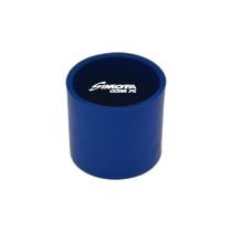 Egyenes szilikon toldó 70 mm kék